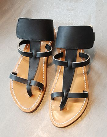 K Jacques Caravelle Sandals in noir, although I'd prefer them in a nude or metallic - yes, they're pricey for sandals, but my other K Jacques sandals have lasted forever!
