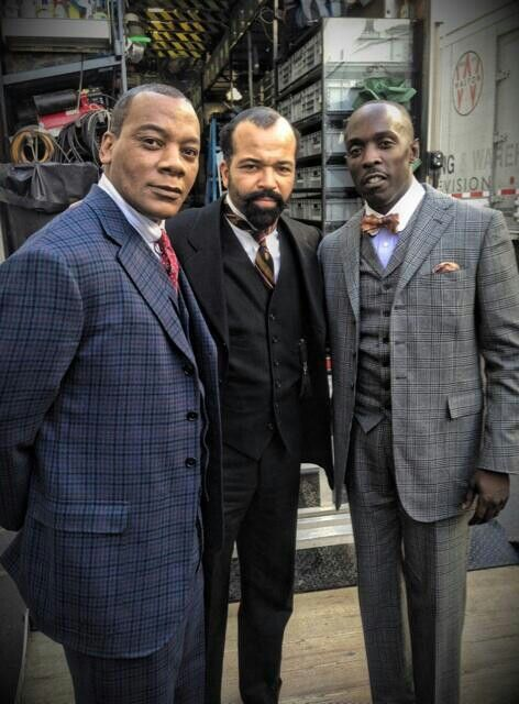 in Boardwalk Empire | HBO - Erik LaRey Harvey as Dunn Purnsley, Jeffrey Wright as Valentin Narcisse, Michael K. Williams as Chalky White