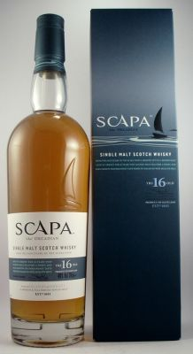 Scapa 16 year old Single Malt Scotch Whisky - Island 40% 70cl - Back in Stock