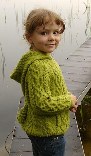 Ravelry: Elenka's Zipped Jacket with neckband or hood
