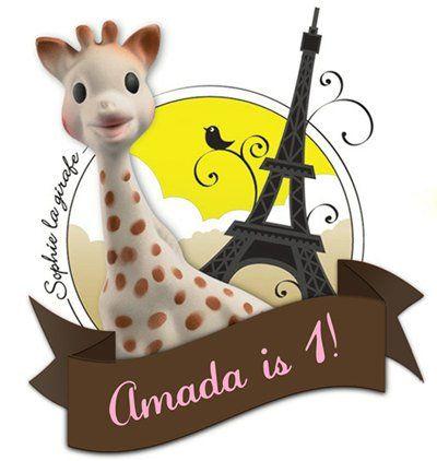 'Sophie la Giraffe' Themed 1st Birthday Bash | Sophie the giraffe, 1st birthday themes