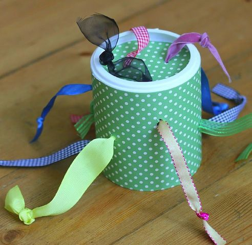 Keep baby occupied and refining those motor skills with these great easy to make toys and games.  ::  Beyond Peekaboo: 13 Games for CreativePlay