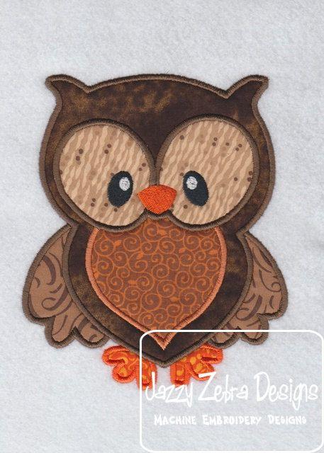 Owl Applique                                                                                                                                                                                 More