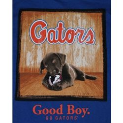 Florida Gators Football T-Shirts - Man's Best Friend - Good Boy - Unique College T-Shirts
