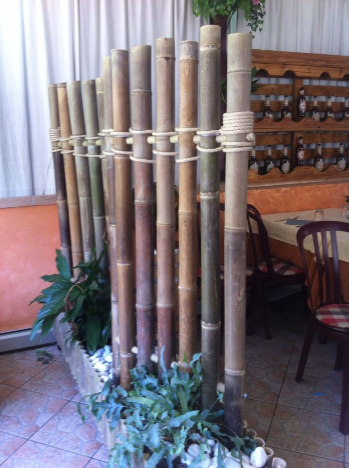 Separe' in bamboo