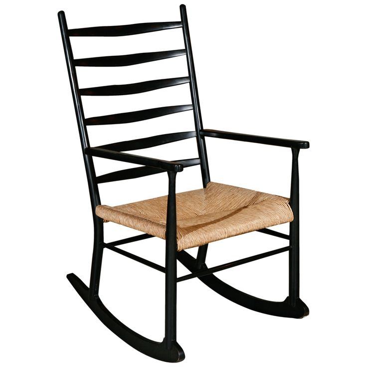 Rocking Chair in Manner of Gio Ponti