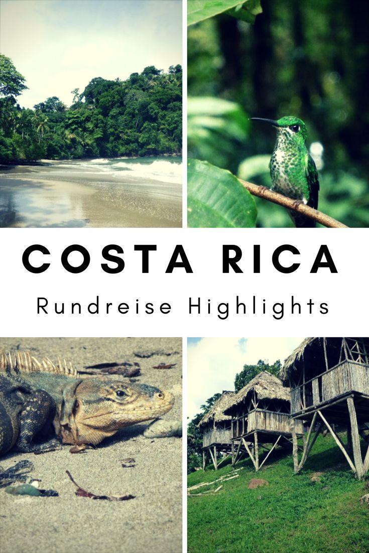 Costa Rica Rundreise Guide. Die Highlights des Landes.