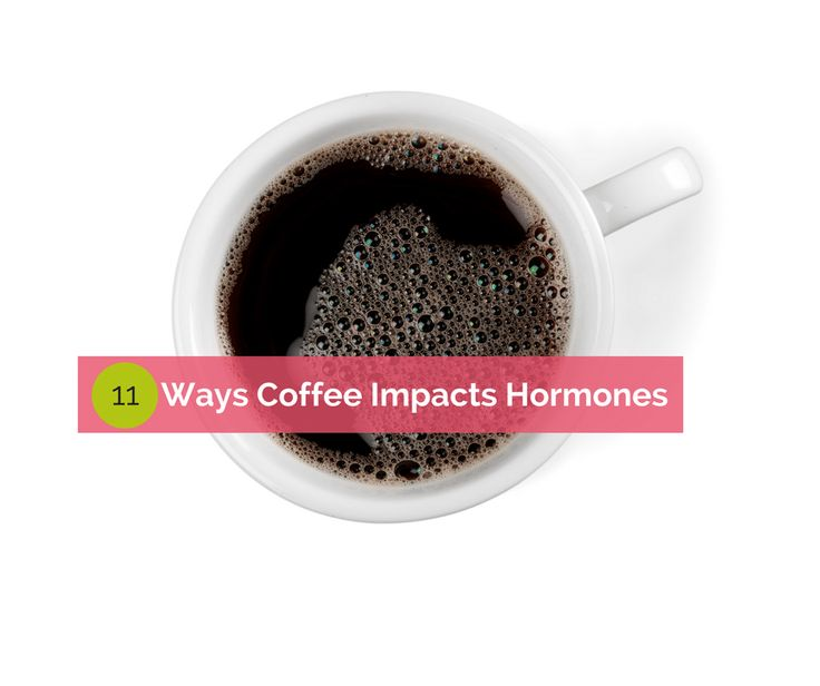 Why and how coffee impacts your hormones and how to find a coffee substitute and break the daily coffee and caffeine addiction.