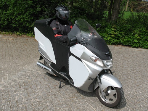 Suzuki Burgman Mods