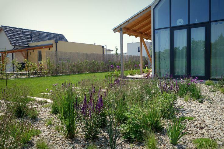 IST House extensive garden, Slovakia http://jrkvc.sk/IST-Rodinny-dom