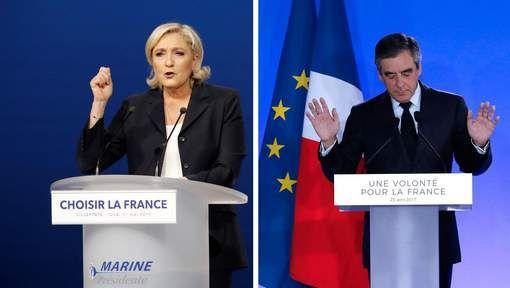 In een toespraak op 1 mei 'plagieert' Le Pen Fillon. Ze gebruikte enkele passages die 'bijna woord voor woord' hetzelfde waren als in een speech van Fillon.