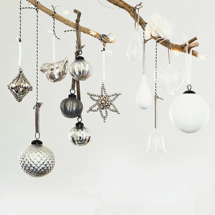 Diamond Orb Decoration | The White Company
