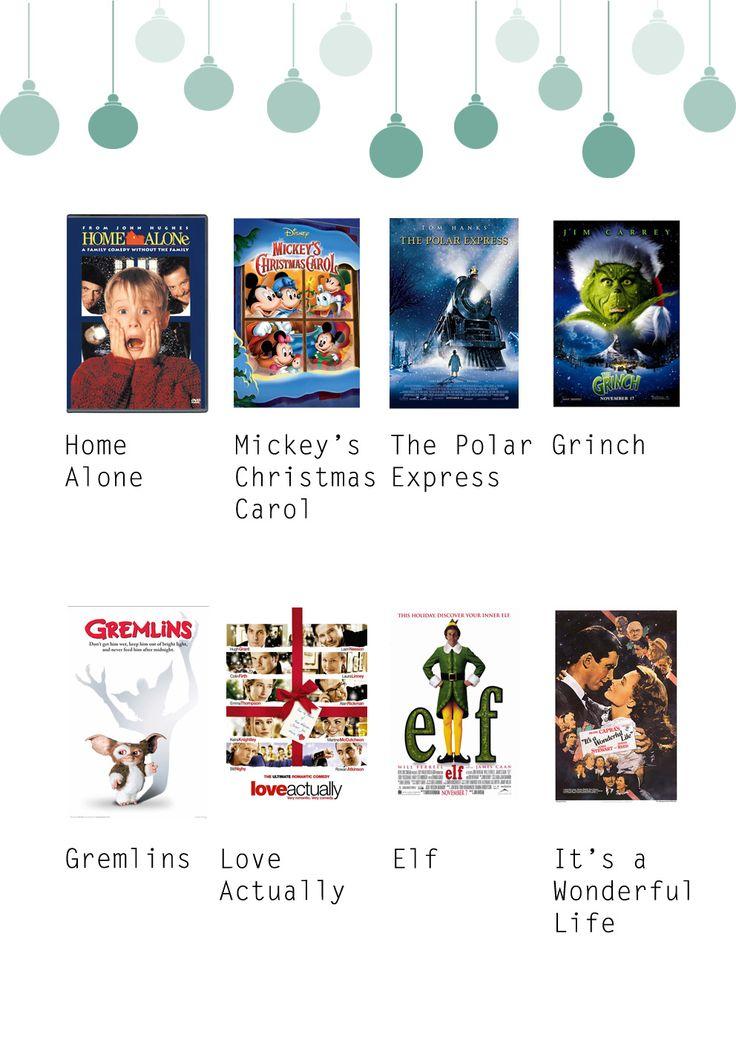 Christmas Movie List - Brunch Club