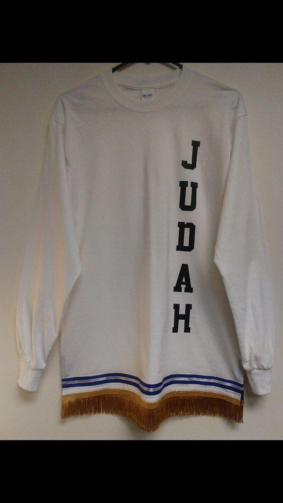 hebrew israelite shirt w//fringes