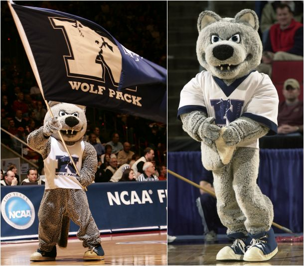 Mascot Monday: The University of Nevada Wolf Pack - click through!