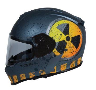 TORC T14 Mako Flag Full Face Helmet NUKE