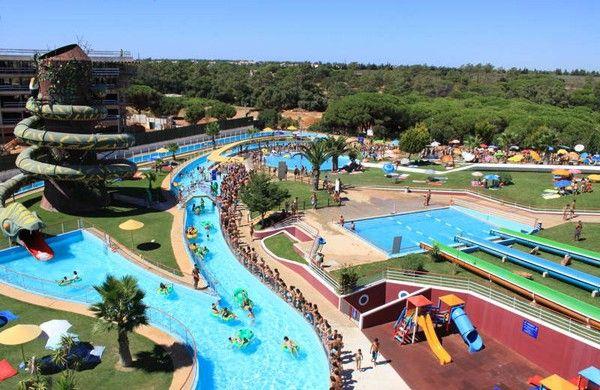 Aquashow Park Hotel, hotel y parque acuático y temático en El Algarve, Portugal