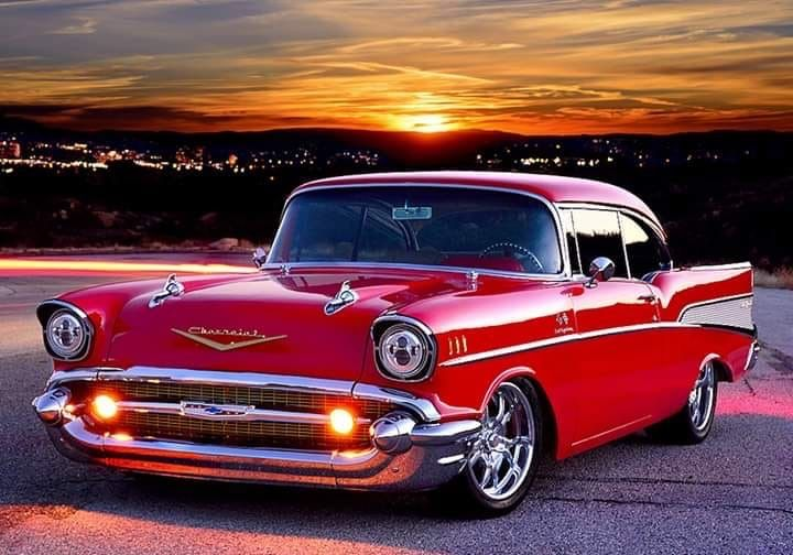 1957 Chevy Muscle Cars 57 Chevy Bel Air Chevy