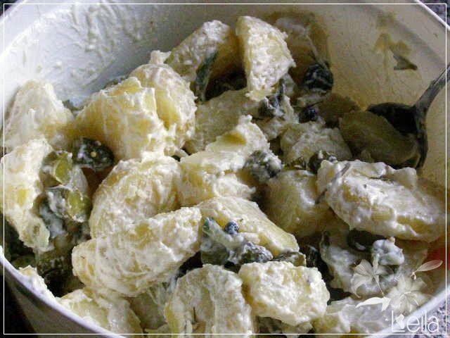 La Nueva Cocina de Leila: Ensalada alemana de patata y pepino