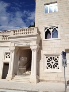 Visit one of the last Stonemasonry schools in the world in #Pucisca on day 4 of VBT's #Croatia vacation.