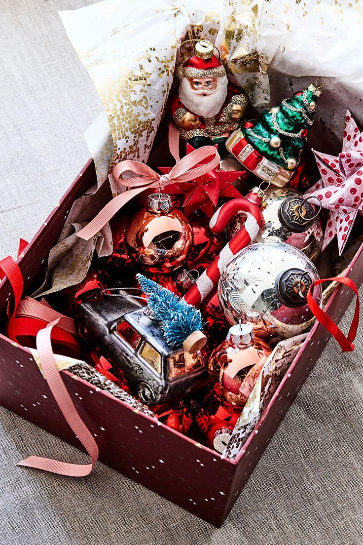 Christmas tree ornaments // Søstrene Grenes Christmas Catalogue 2016