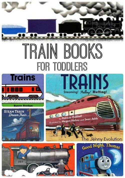 Favorite Train Books for Toddlers | The Jenny Evolution