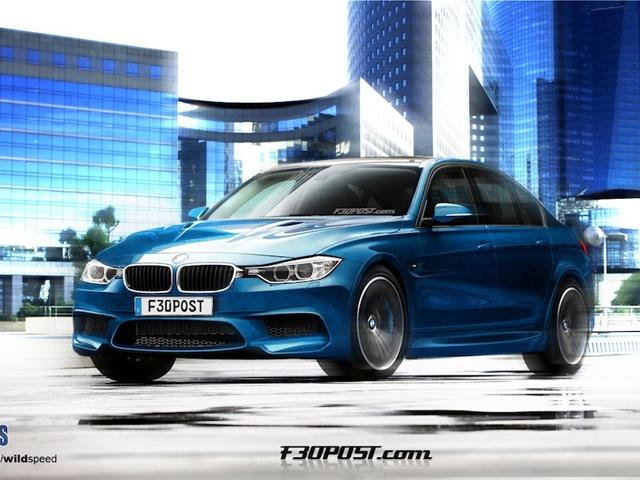 The emperor arrives! BMW's 2014 M3.
