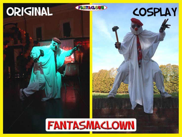 FantasmaClown Originale e Cosplay