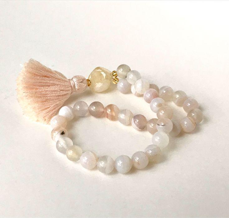 White gemstone Tasbih - Minj Tasbih - Misbaha - Eid Gifts - Islamic Gifts
