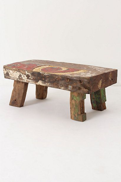 Reclaimed Boat Side Table Good Looking
