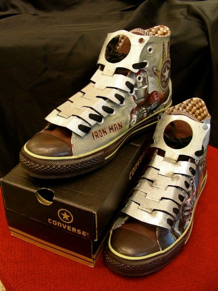 ironman-2-converse-custom-shoes-whatsshop-2 | WHAT's SHOP ...