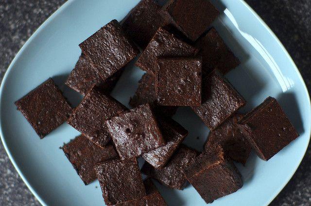 best cocoa brownies | smittenkitchen.com
