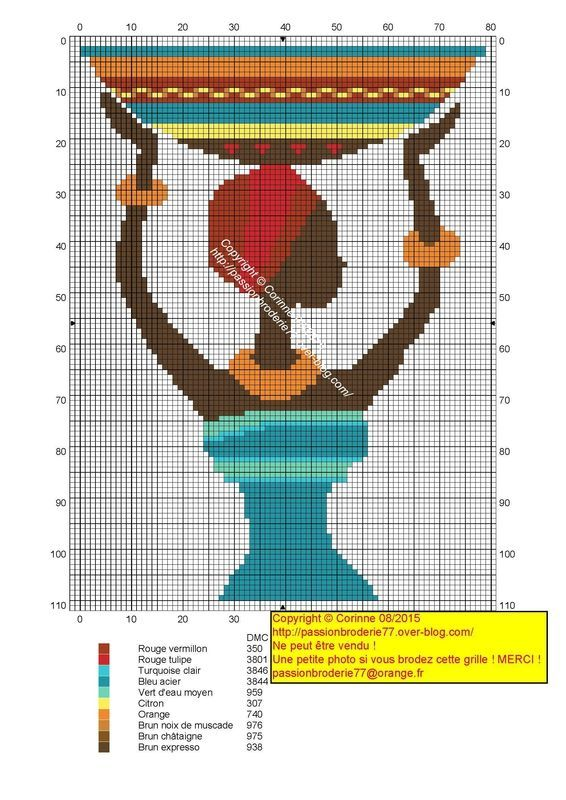 0 point de croix femme africaine avec un plat sur la tete - cross stitch african girl with a plate on her head