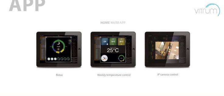 Vitrum app. for clima control