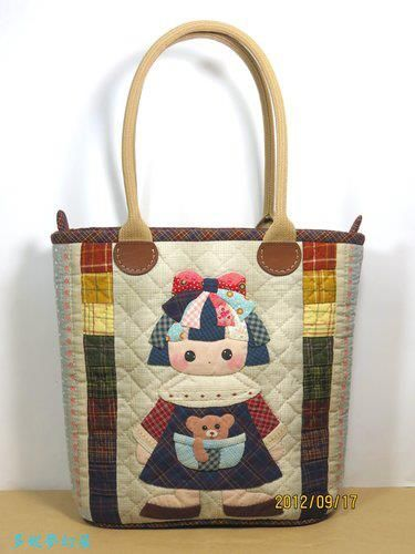 VIDA Statement Bag - QuiltFox Tote by VIDA CFCIgSl