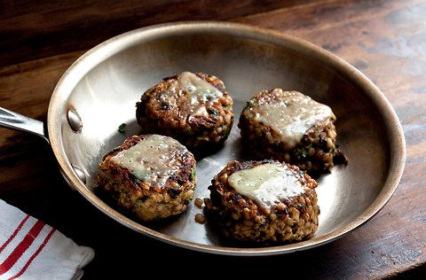 A Vegetarian Burger Bash! (NYTimes)  5 recipes.
