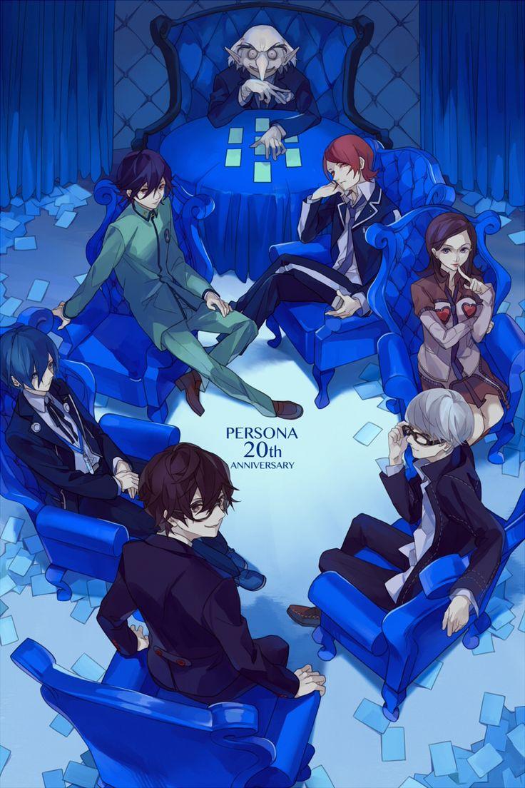 Persona 20th Anniversary Persona 5 Persona crossover