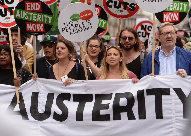 The UN declares the UK's austerity policies in breach of international human rights obligations