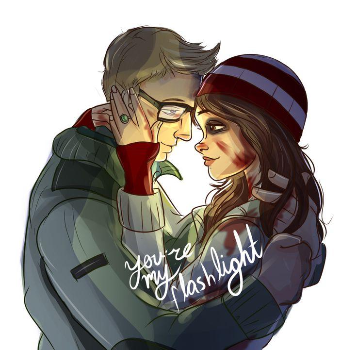 Until Dawn: my favourite couple: Chris x Ashley