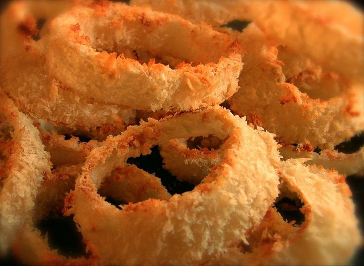 Crispy Baked Chipotle Onion Rings (Baked, Not Fried!) | Onion Rings ...