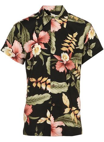 Makahiki Hawaiian Short Sleeve Shirt* - Mens Shirts  - Clothing