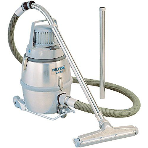 Nilfisk GM80 HEPA Vacuum, 110-120V, 3-1/4 Gal. – Lightweight and portable, the Nilfisk GM 80 Vacuum is a versatile machine providing the durability and performance required by dust control professionals, and can be used in both portable and stationary applications. It features a standard multi-stage filtration system with a paper dust bag, main filter, microfilter …