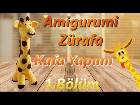 Amigurumi: Zürafa Yapımı 1.Bölüm - Sevimli Zürafa Kafa Yapılışı