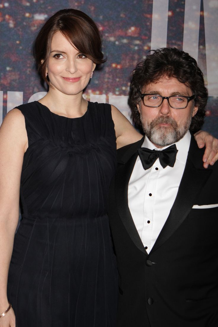 ~ TINA FEY & HUSBAND  JEFF RICHMOND ~