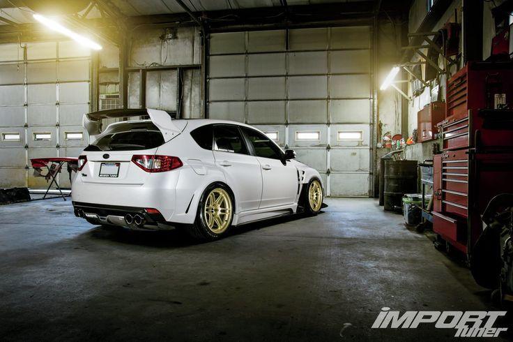 2011 Subaru WRX STI Varis Wing 02 Photo 4