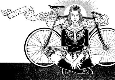 BIKE DAY LA: M. Giant Bike Art