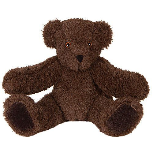 Vermont Teddy Bear - Soft Cuddly Chocolate Teddy Bear, 15 inches, Made in the USA