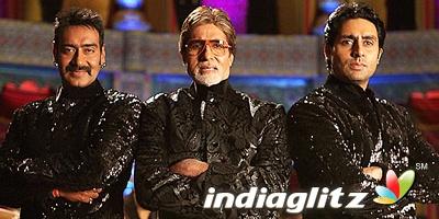 Big B in 'Bol Bachchan'