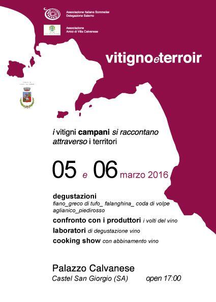 Vitigno&Terroir. VII edizione del salotto del vino da monovitigno autoctono campano