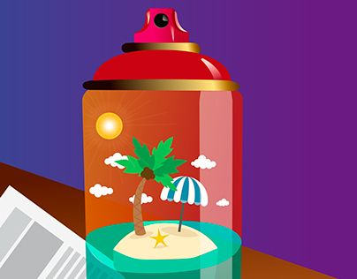 """Check out new work on my @Behance portfolio: """"Spray can??"""" http://on.be.net/1I9eUH2"""